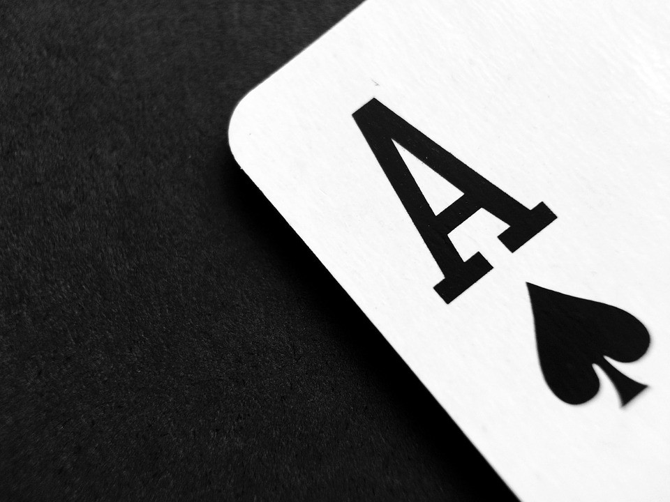 Tarjeta De, Póquer, Ace, Juego, Casino, Juegos De Azar